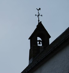 Call to Worship (magaroonie) Tags: church bell perthshire weathervane amulree 7daysofshooting simplesunday week28holyplaces