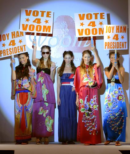 Voom Spring 09 Fashion Show