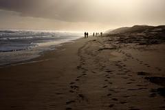 Balmedie Beach (BrianReid) Tags: beach canon eos scotland aberdeen ii di 17 footsteps 50 tamron xr balmedie 40d