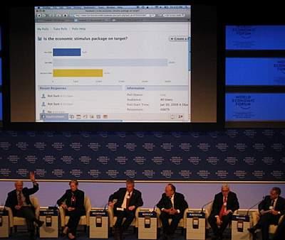 Facebook at Davos