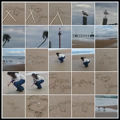 thumbnail images of photos from photo walk at daytona beach, florida