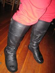 Skinny Jean Odyssey, 2/4/09 Boot Detail