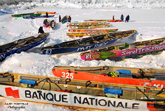 Colors on Ice / Couleurs sur Glace (Julien Robitaille Photographie) Tags: nationalbank banquenationale isleauxcoudres colorsonice icecanoeracing julienrobitaille lagrandetraversecasinodecharlevoix coursedecanotssurglace course2009
