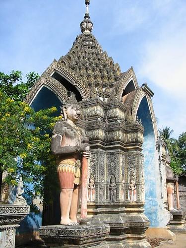 Militaristische entreet van de Pagoda
