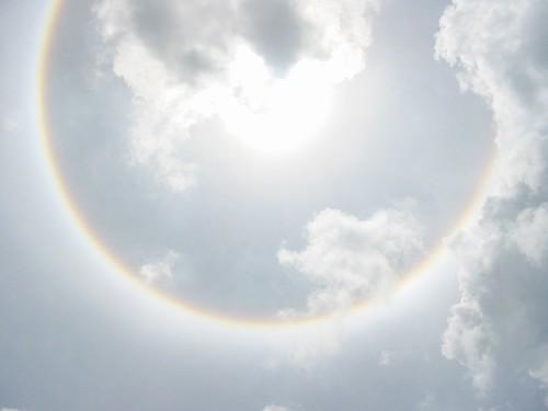 ronde regenboog !!!