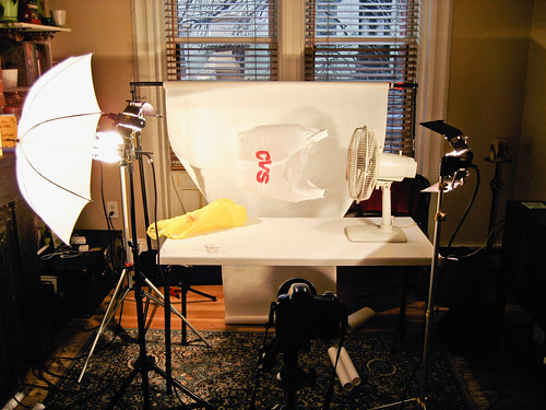 Behind the Scenes #5, Ghetto Photo Studio