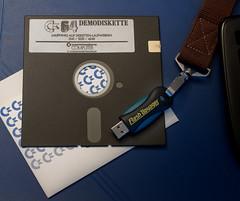 Floppy vs. Memorystick
