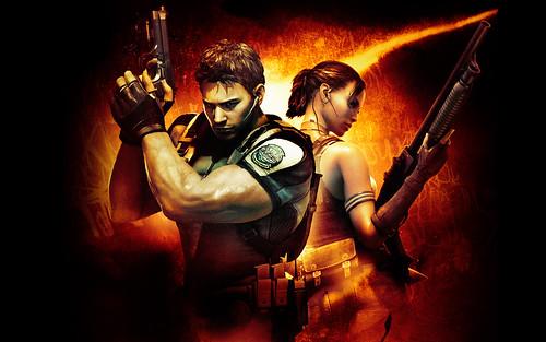 Resident Evil 5 Chris y Sheva