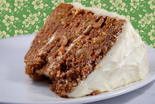 ... by Melissa: Tropical Carrot Cake with Coconut Cream Cheese Frosting