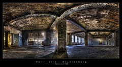 Heilsttte Oranienburg (d.r.i.p.) Tags: panorama berlin abandoned industry architecture germany deutschland nikon decay widescreen drip urbanexploration architektur 24mm hdr decayed hdri urbex 2470mm photomatix d80 hdrpanorama vertorama 2470mmf28g
