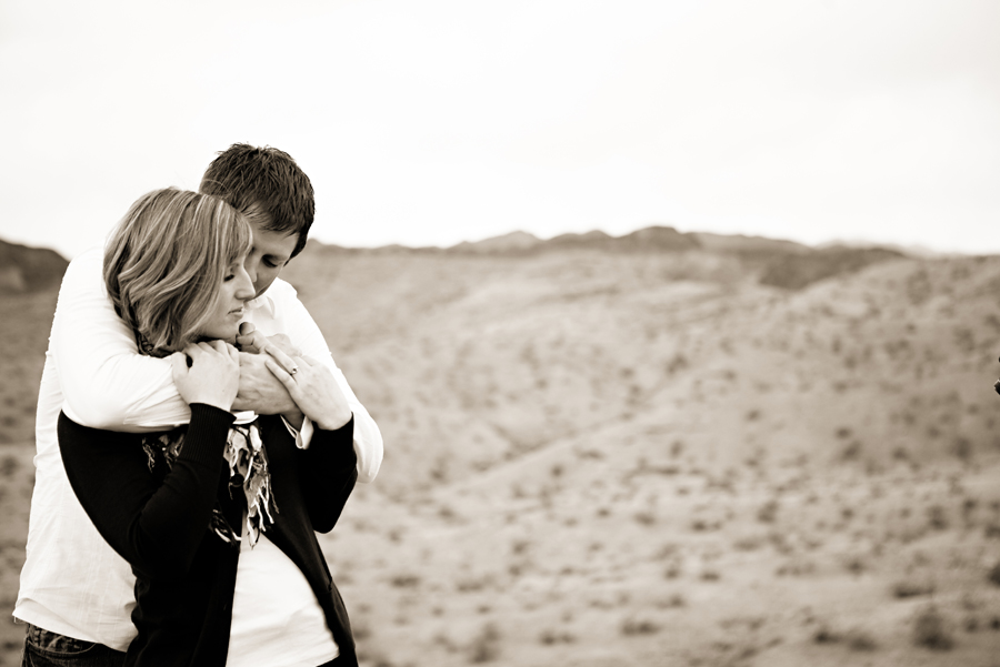 Dustin and Christy- Anytime Shoot- Arizona desert