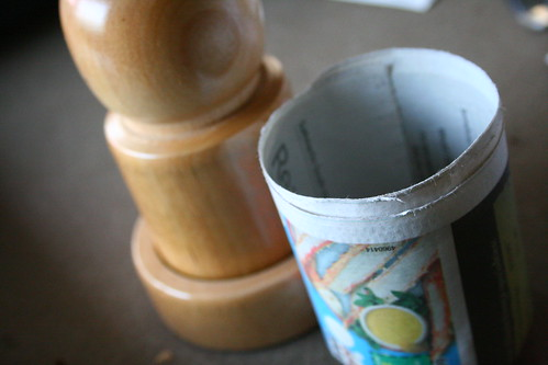 Making a NewsPaper Pot - Step Four