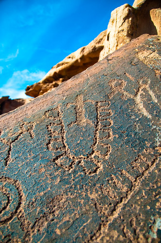 Ft. Pearce petroglyphs
