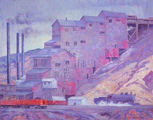 Carl Redin: At Madrid Coal Mine, New Mexico, 1934