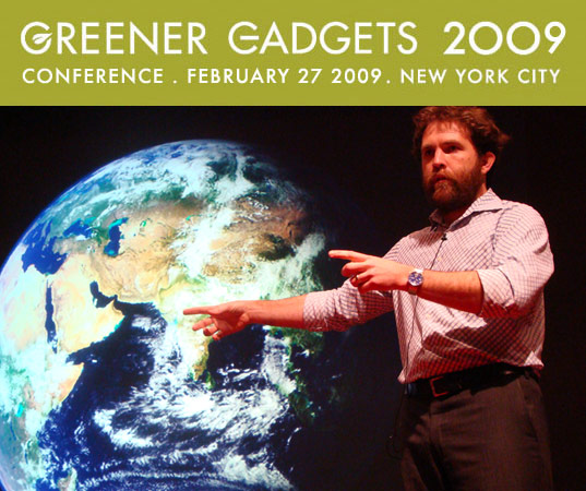 Greener Gadgets: Saul Griffith, greener gadgets 2009, sustainable design, green consumer electronics, greener gadgets design competition, green technology conference, clean technology