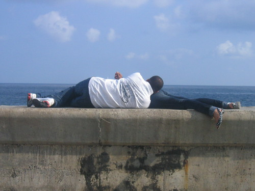 Lovers on the Malecon