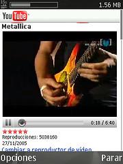 Youtube web móvil
