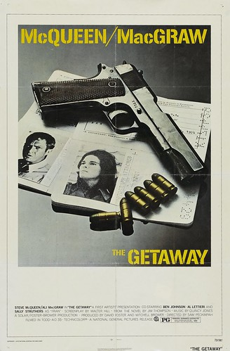 Póster de La huída (The getaway)