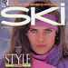 Obermeyer Ski Magazine cover girl, Carol Alt