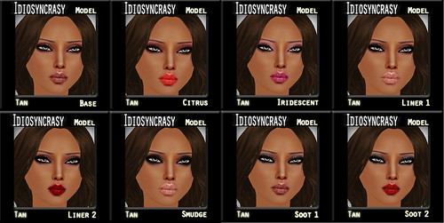 model tan makeups