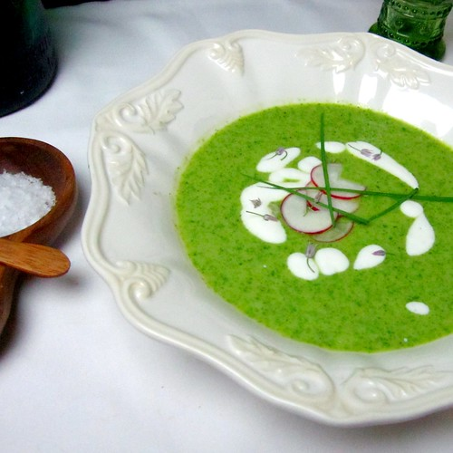 Butter Lettuce Soup