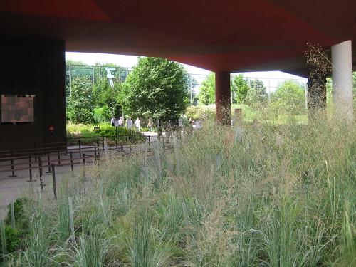 Musee Branly, jardin