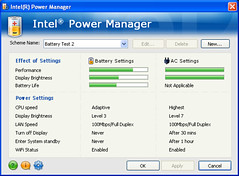 Intel Power Manager (foto door: PiAir (Old Skool))