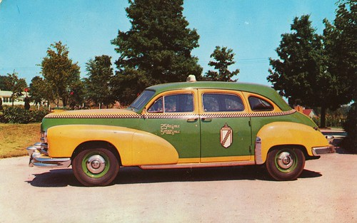 1953 Checker Model A-6 Taxicab