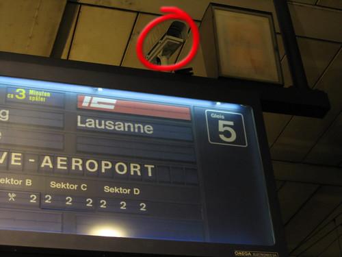 Videokamera Banhhof Bern