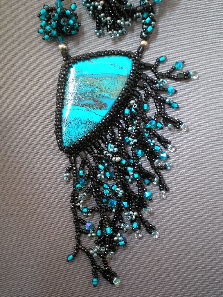 Faux Turquoise Cabochon