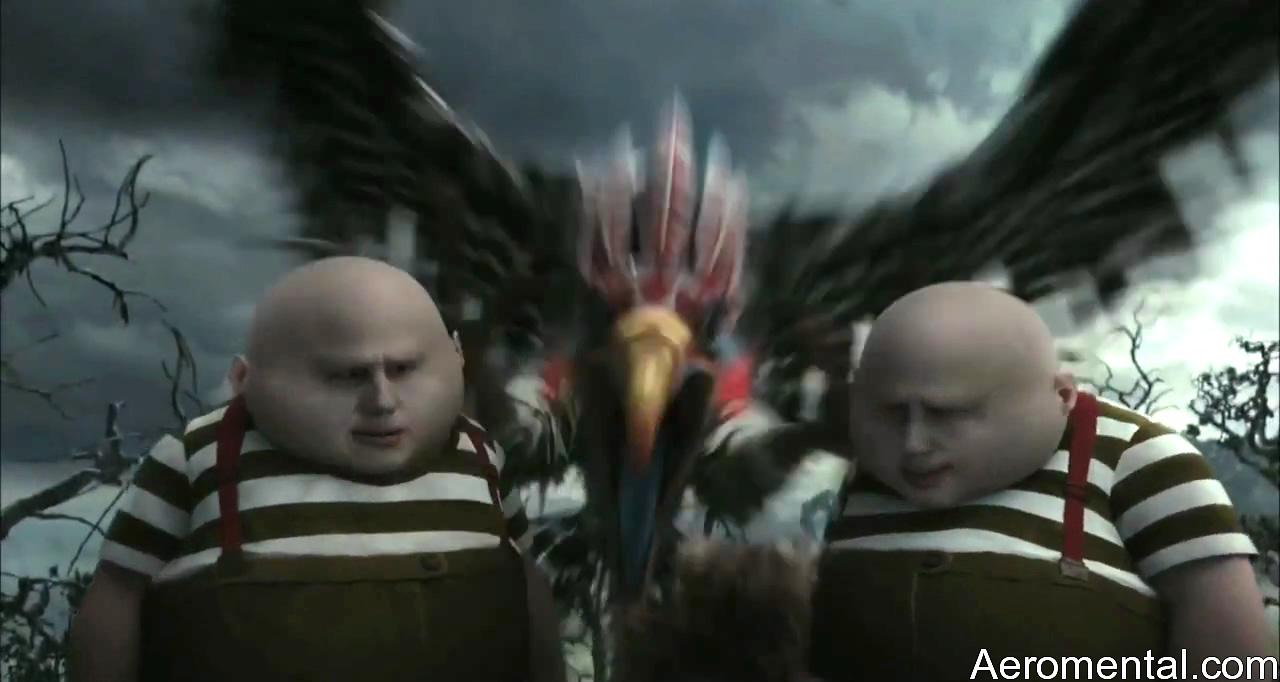 Alicia en el País de las Maravillas HD pájaro gigante