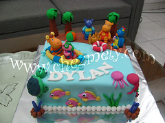 Backyardigans - The Beach (Chez Mely) Tags: birthday cake backyardigans