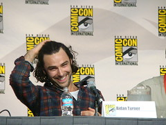 Aidan Turner (vagueonthehow) Tags: bbc comiccon bbcamerica sandiegocomiccon sandiegoconventioncenter beinghuman aidanturner sdcc09