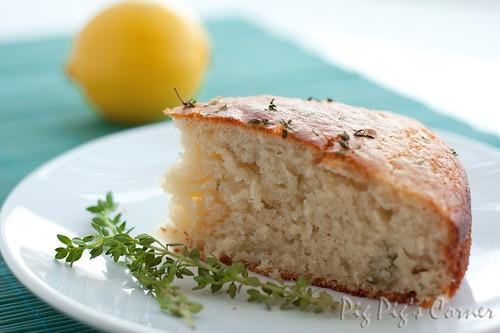 Lemon and Thyme yogurt cake 4