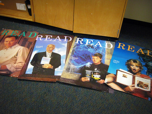 "awesome vintage ""Read"" posters!"