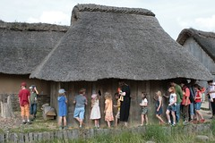 Familienführung durch das Wikinger Museum Haithabu 09-08-2009