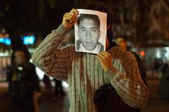 Protesta en Repudio al Asesinato de Jaime Mendoza Collío