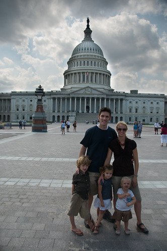 Family at the Capitol