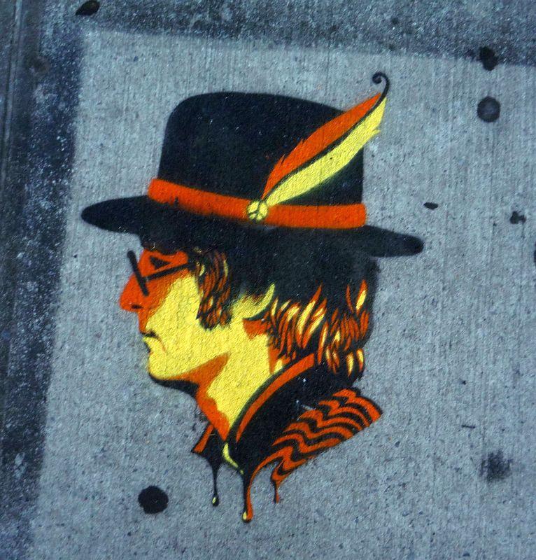 Lennon Stencil