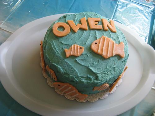 Owen's Nemo cake 2