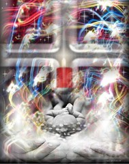 Rebirth (P.O.E.) Tags: life christmas xmas holiday art love digital easter fun hope photo alone sad christ time god jesus joy apocalypse happiness christian hate end laughter lonely through sorrow yeshua rapture yahweh revelations glorifying