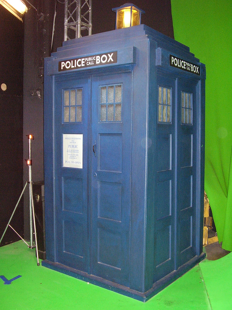 Dr Who - TARDIS Exhibit