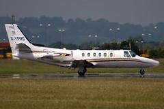 G-YPRS - Private - Cessna 550B Citation Bravo - Luton - 090702 - Steven Gray - IMG_5190