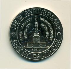 U.S.Frigate Constitution medal rev