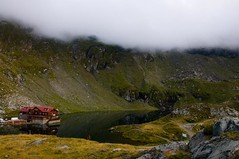 Balea glaciar lake - Fagaras mountain (valentin dontov) Tags: road mountain lake clouds nikon drum lac romania glaciar munti nori carpati roumanie sibiu topgear munte d300 montan fagaras balea transfagarasan anawesomeshot glaciarlake