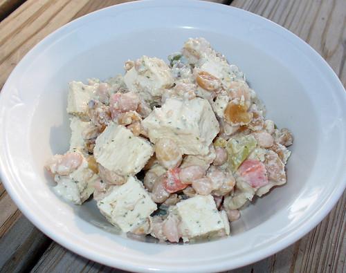 2009-09-11 - Tahini Tofu Salad - 0007
