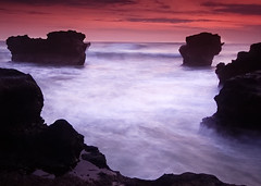 Rocks! (Helminadia Ranford(New York)) Tags: longexposure bali beach indonesia mengening