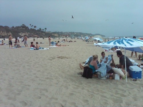 Chase viral event at Zuma beach by GenPlus.