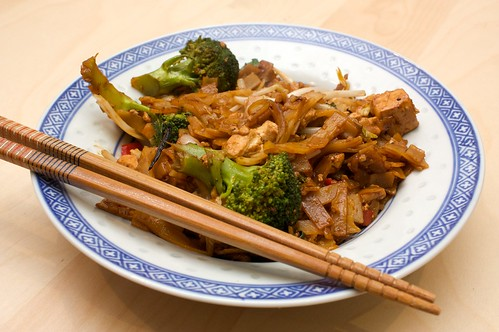 drunken noodles from vegan planet