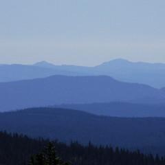 blue hills (tasawa69) Tags: california blue camping view hills layers atmosphericperspective lassennationalpark